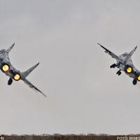 Mig-29 Fulcrum dogfight - Sliac Airshow