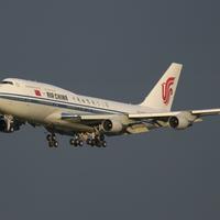 Boeing 747 - MSN 25883 - B-2447, Air China