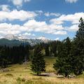 Velika Planina - Távolban a főgerinc