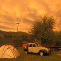 Elképesztő színek a naplemente után