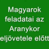Magyar vagyok. Mi a feladatom?