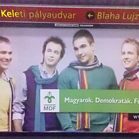 Szerintünk az MDF plakátja ...