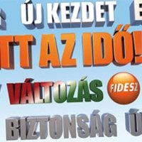 A Fidesz csúnya plakáton toboroz