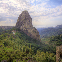 A Kanári-szigetek : La Gomera