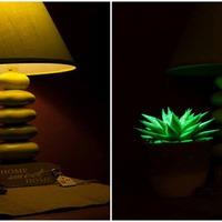 Hangulatfényvilágító növényekkel