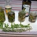 Fűszerolajok- és ecetek készítése