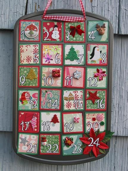 adventi naptár vásárlás Három adventi naptár ötlet papírból   Karácsony 2013 adventi naptár vásárlás