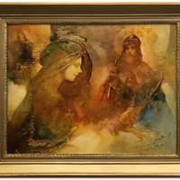4+1 Téma Buday Mihály festőművész alkotásaiban