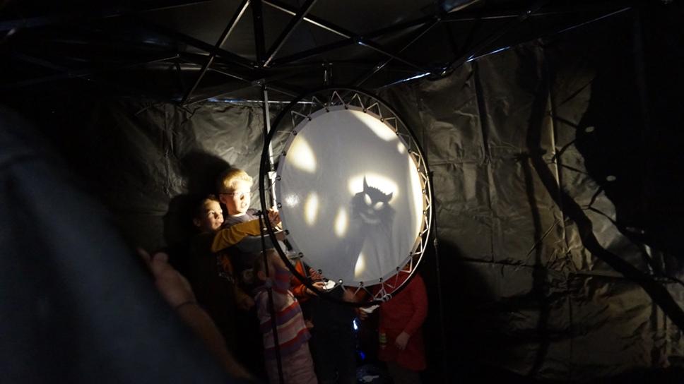 a sátorban