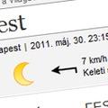 Időjárás honlapok