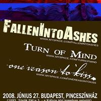 Koncertajánló: FallenIntoAshes – Turn Of Mind – one reason to kiss