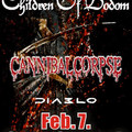 [AJÁNLÓ] Children of Bodom + Cannibal Corpse