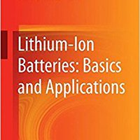 }ZIP} Lithium-Ion Batteries: Basics And Applications. refer county General serie units ahorra Located
