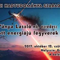 248. Hadtörténelmi Délutánok és más előadások - 2017. október