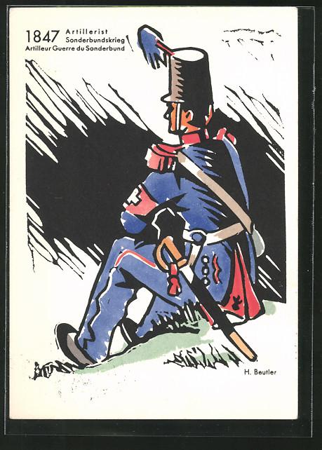 blog318-01_kuenstler-ak-h-beutler-artillerist-im-sonderbundskrieg-1847-schweizerische-nationalspende.jpg