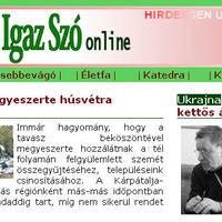 A Kárpáti Igaz Szó új honlapja