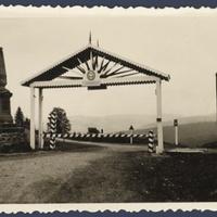 A lengyel-magyar határ a Vereckei-hágón 1939-ben