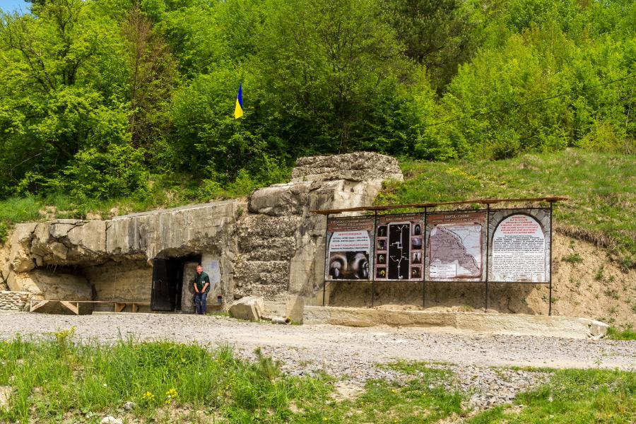 arpad vonal felsogereben bunker