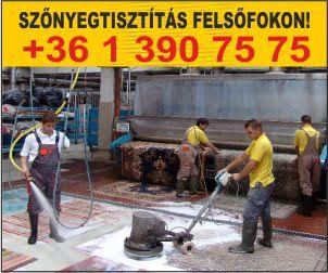 szőnyegtisztítás és kárpittisztítás Budapest