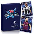 Új 30 darabos Topps Crystal szett jön a BL-győztesekkel és aláírt kártyákkal