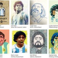 165 darabos Maradona-sor, igaz, nem kártya, nem is matrica