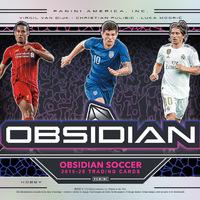 Jön az Obsidian Soccer a Paninitől - újabb kevés kártyás csúcssorozat
