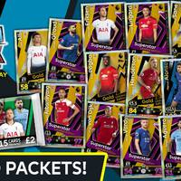 15 aranykártyás Match Attax Premier League Hero-csomagok néhány angol bolthálózatban