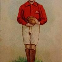 A legelső fociskártya sor 1898-ból