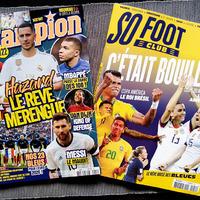 Európa focis újságjai tele vannak kártyákkal és hasonlókkal, de nem úgy, mint nálunk