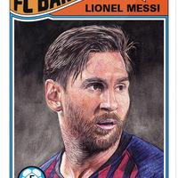 Messivel indítja új Bajnokok Ligája sorozatát a Topps