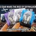 Topps Star Wars – The Rise of Skywalker 2019 – bemutató bontás