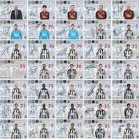 Egyedi készítésű Newcastle United kártyák Angliából