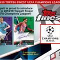 Topps Finest – februárban jelenik meg a BL-prémiumsor
