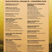 FIFA 365 sorozat – németországi limitált megjelenések