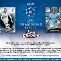 Erős aláírói névsorral érkezik a WC Prizm és a Champions League Chrome