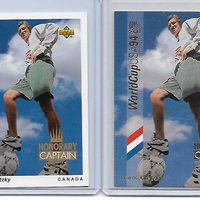 Upper Deck World Cup 1994 – Honorary Captain kártyák