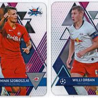 Két új magyar kártya jelent meg az új Topps Crystal Champions League sorozatban