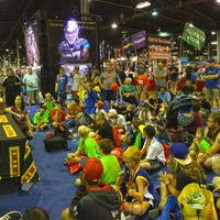Friss képek Chicagoból a National Conventionről, a Panini standjáról.