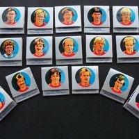 80-as évek eleji Bayern München matricasor gyufákon