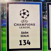 Megjelent a Topps Champions League 2018/19 matricasor – Szalai Ádámmal