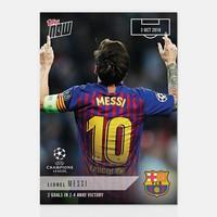 Megjelentek az első Topps Now Champions League kártyák