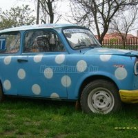 Trabant verseny 1300as
