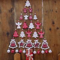 Karácsonyi faldekoráció egyszerűen