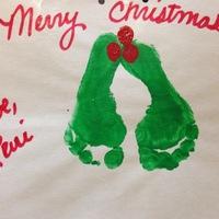 Karácsonyi dekorötlet kisgyerekeseknek