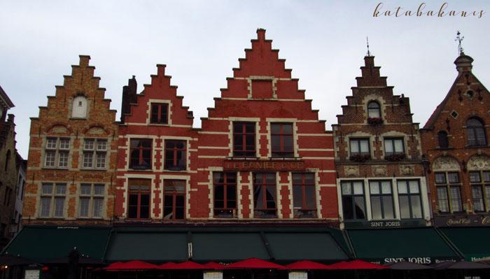 Bruges (Brugge), egy borongós délután Messzi tájak Európa