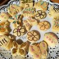 Vaníliás muffinok tavaszi díszben