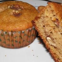 Narancsos diós muffin