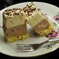 Habkönnyű csokoládékrémes szelet