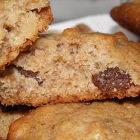 Pofonegyszerű diós mazsolás keksz