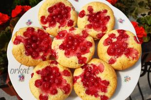 Bogyós muffin - ribizlivel - Kata konyhájából